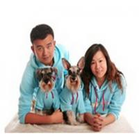 China 2015 new design fleece hoodie dog clothes matching dog and human pet clothes clothes wholesale
