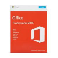 China Product Key For Ms Office 2016 Professional Plus 32 bit 64bit DVD Pack wholesale