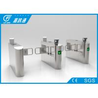 China Office Building Swing Gate Turnstile Stainless Steel Housing 50 Person / Min wholesale