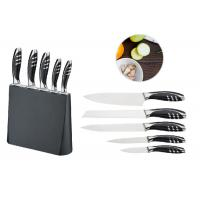 China Durable Chef Kitchen Knife Sets , Small Knife Block ABS Forging Shank wholesale