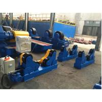 China 5T - 500T PU Rollers Self Aligning Welding Turning Rolls 4KW Wired / Wireless Control wholesale