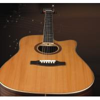 China Luxurious Solidwood acoustic 6 string guitar for student TP-AG519C wholesale