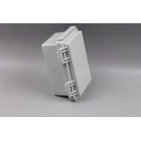 China IP67 Stainless Steel Hinged Junction Box With Mounting Plate wholesale