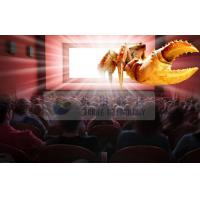 China Amazing Indoor 4D cinema system with Flat / Arc / Circular Silver Metal Max Screen wholesale