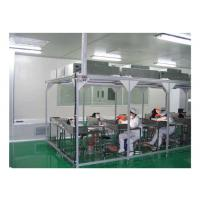 China Aerospace / Electronics Softwall Clean Room Chamber With HEPA Air Filter 110V / 60HZ wholesale