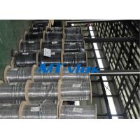 China Seamless ASTM A269 TP316L / 304L stainless steel coil tube ISO 9001 & PED & AD2000 wholesale