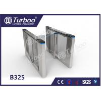 Quality Office Security Entrance Swing Turnstile Barrier Gate RFID Card Reader for sale