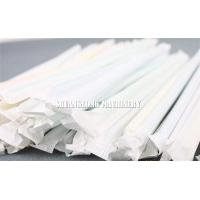 China Automatic Single Drinking Straw Packing Machine Packing / Wrapping for Paper Straw wholesale