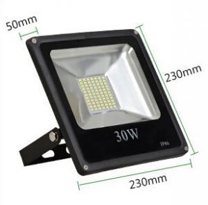China 30W led reflector led lamp dimmable flood lighting black grey aluminum housing single 110V wholesale
