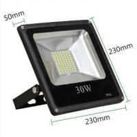 China 30W led reflector led lamp dimmable flood lighting black grey aluminum housing single 110V wholesale