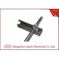 China Hot Dip Galvanized C Type Steel Strut Channel Fittings 41*41 41*21 , 1.5mm to 2.5mm Thickness on sale