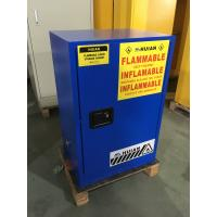 China Fireproof  Corrosive Storage Cabinets Flammable Locker With 3 Points Lock wholesale