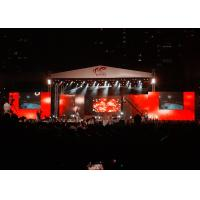China Big Stage LED Screens Outdoor , waterproof LED Curtains Backdrop Enviromental wholesale