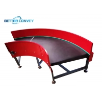 China assembly line 50mm Roller Curve Conveyor wholesale