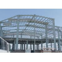 China Two Story Steel Building Construction , Lightweight Steel Storage Building Kits on sale