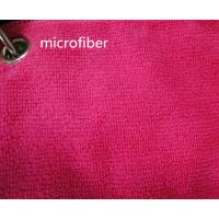 China Microfiber 260gsm Green Colorful 150cm Width  Terry fabric Car Glass Cleaning Cloth wholesale