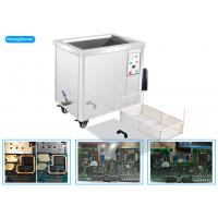 China Econimical Size Ultrasonic PCB Cleaning Machine , 40KHz Industrial Ultrasonic Cleaner wholesale