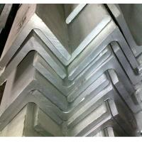 China Equal and Unequal 304 Stainless Steel Angle Bar / Bars With Mill Finish For Architecture, Engineering Structure wholesale