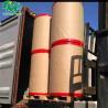 China Coated Black Image Thermal Paper Jumbo Rolls 2 Rolls Per Pallet 875mm*9000 Meters wholesale