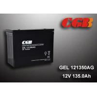 Quality 12V 135AH AGM Gel Lead Acid Battery , Energy Storage Battery For Solar Wind for sale