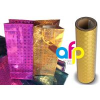 Quality Polyester Laser Holographic Film 22 Micron Thickness 10 - 18mpa Compound for sale