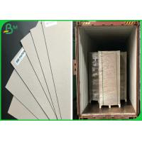 China 1mm Mix Pulp FSC Certificate Waste Paper Sheets Grey Chipboard For Parking Box wholesale