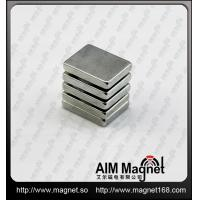 China F20*15*4mm neodymium block magnet wholesale