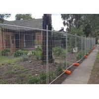 China Builders Security Steel Temporary Fencing Mesh Panels For Domestic Housing Sites wholesale