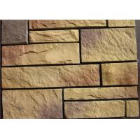 Buy cheap Light Texture Colorful Faux Artificial Wall Stone With Rich ...
