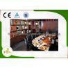 China Pipeline Natural Gas Bridge Shape Ten SeatsTeppanyaki Grill Table wholesale