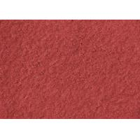 China Plain Coloured Wine Red Boiled Wool Fabric Australia 148CM Width wholesale