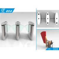 China High Speed Security Flap Barrier Turnstile Railway Statiomn / Scenic Ticket System wholesale