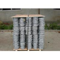 China Single , Double , 4 Strand Razor Barbed Wire For Fence Protective 450mm - 960mm wholesale