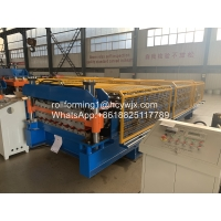 China CE Roof Panel 11kw Double Layer Roll Forming Machine wholesale