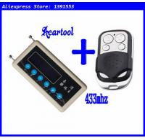 China Acartool car remote control copy 433mhz car remote code scanner + 433mhz A002 car door remote control copy wholesale