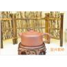 Buy cheap Lantern Shape Purple Clay Teapot Set , Chinese Yixing Teapot Eco - Friendly from wholesalers