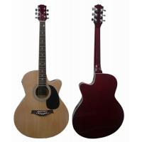 China 40 inch Ultrathin Cutaway Wood Acoustic Guitar Western Guitar With EQ AF4010CA-EQ wholesale