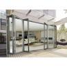 China Economic Aluminium Bi Fold Doors , Waterproof Customized Commercial Folding Doors wholesale