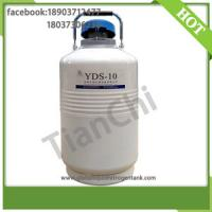China TianChi liquid nitrogen dewar tank 10L in Lithuania on sale