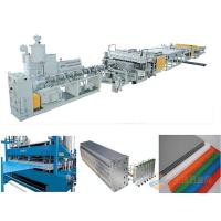 Quality PLC PC PP Pp Hollow Sheet Extrusion Line For Grid Plate 2 - 25mm for sale