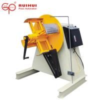 Buy cheap Hydraulic Manual Steel Coil Uncoiler For Press Machine / Decoiler Stamping from wholesalers