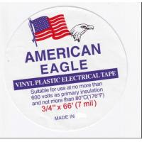 China American Eagle PVC Electrical Insulation Tape 0.13mm×19mm×10yds wholesale
