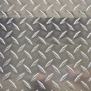 China 3mm 6mm Aluminium Checker Plate 0.25 aluminum diamond plate 4x8 sheet wholesale