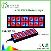 China Reflector 25w Led Weed Growing Lights, Square Red Led Plant Grow Lights wholesale