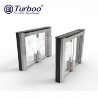 China Physical Access System Turnstyle Automatic Gates With Voice And Strobe Light Alerts wholesale