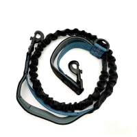 Buy cheap Hands Free Dog Lead Wavelength Bungee Double Handles Running Dog Leash from wholesalers