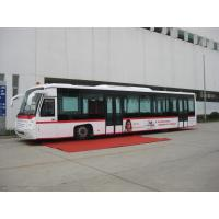 Quality Right Hand Drive Airport Transfer Bus , 102 Passenger 14 Seat Ramp Bus for sale
