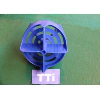 Blue Plastic Injection Molded Parts Design ABS High speed Multi cavity