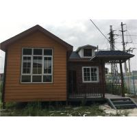 China 56㎡ Lightweight Cement Board Wall Prefab Steel House With Asphalt Shingle wholesale