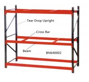 China 96 X 36 Inch Warehouse Pallet Shelving , 14 Gauge Industrial Steel Storage Racks wholesale